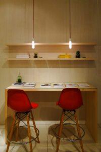 アパレル店舗 木製家具製作2