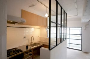 住宅リノベーション工事 キッチン