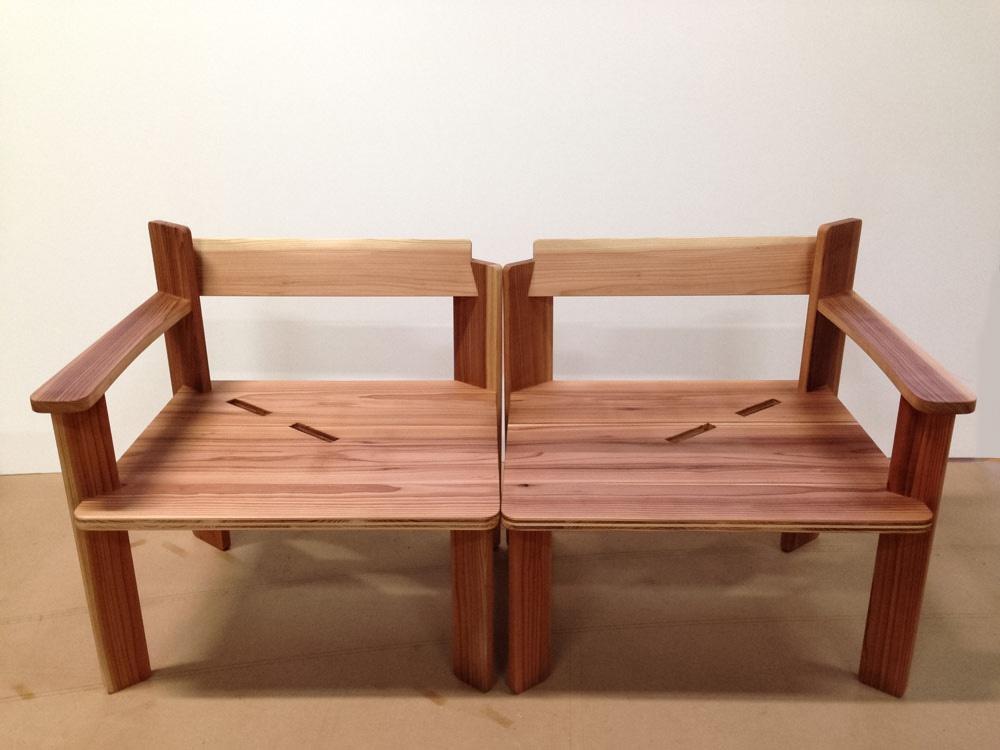 <p>木製オーダーベンチ<br /> 神奈川県鎌倉市 T様</p>