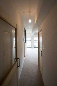 住宅リノベーション工事 廊下