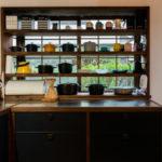 オーダーキッチン、リビング施工