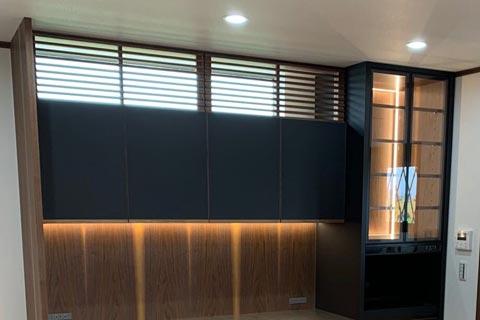 オーダーキッチン食器棚