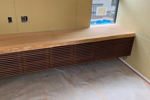 オーダーテレビボードの天板