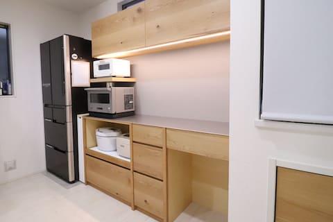 カップボード(食器棚)横