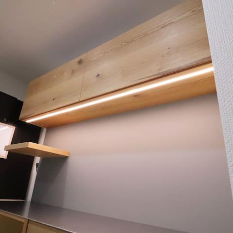 カップボード(食器棚)ライト