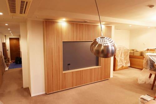テレビ台(テレビボード)横