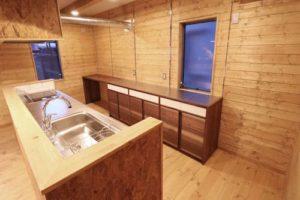 BESSの家 カップボード(食器棚)