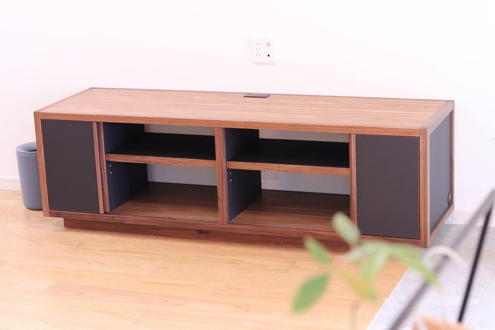 新築一戸建て住宅のテレビボード(テレビ台)