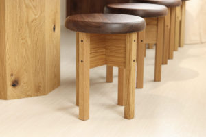 木製家具 丸椅子