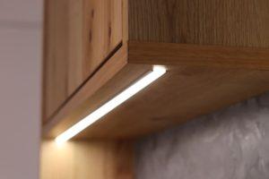 キッチンエリアアップグレード 照明
