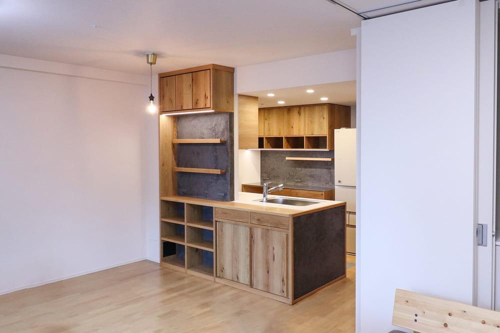 <p>さいたま市新築マンション「SHINTO CITY(シントシティ)」キッチンエリアアップグレード</p>