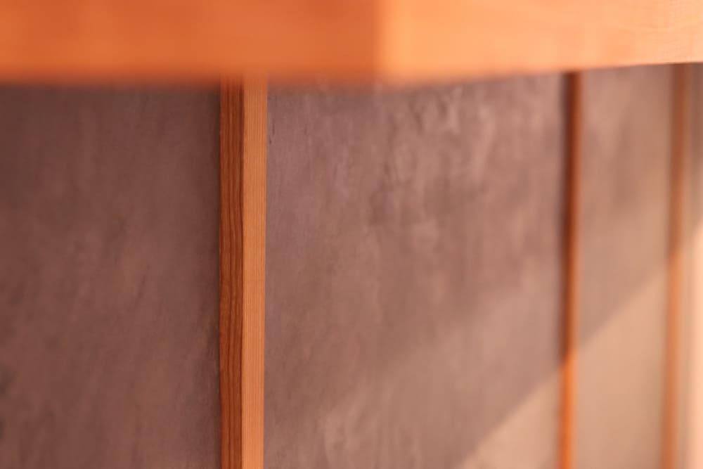 キッチンカウンター前面のモールテックス