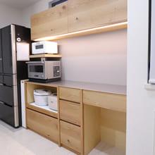 さいたま市与野区のオーダー食器棚(カップボード)