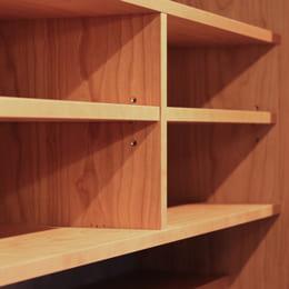 オーダー食器棚(カップボード)の棚