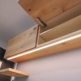 オーダー食器棚(カップボード)の吊り戸棚