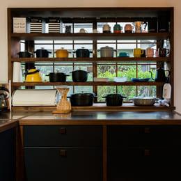 リノベーションした食器棚